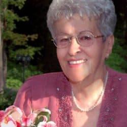 Mme Georgette Gagnon née Leroux