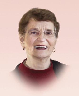 Mrs Réjeanne Parenteau (née Forcier)