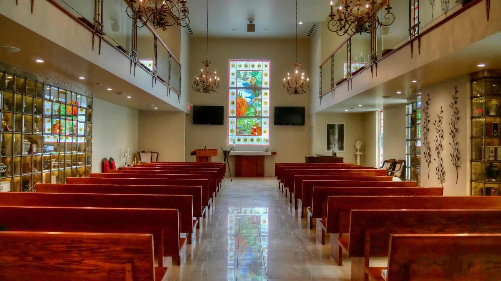 Chapelle salon funéraire de Dorval