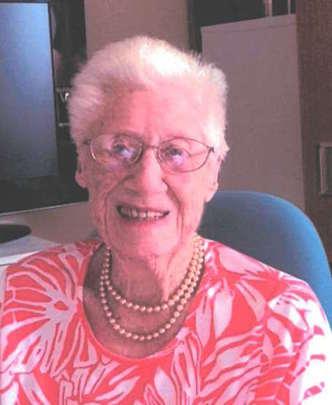 Mrs Alice (Pat) IRWIN (nee ORCHARD)