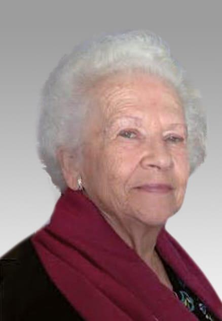 Mme Jeannine Charbonneau (née Chicoine)