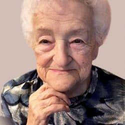 Mme Yolande Bourdeau   née Poirier