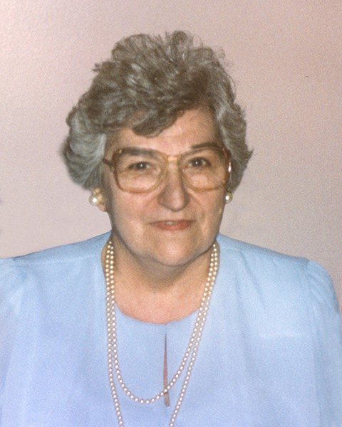 Mrs Jeannine Véronneau Lacroix